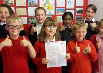 Colburn Community Primary School Celebrates been declared GOOD from Ofsted