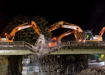 A1 to close this weekend while new bridge is installed
