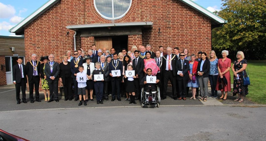 MAYORS CIVIC SERVICE WHICH WAS HELD ON SUNDAY 8TH SEPTEMBER AT ST CUTHBERT'S CHURCH
