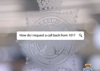 CONTACTING THE POLICE~ CALL BACK SERVICE