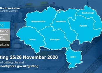 GRITTING TAKING PLACE IN THE AREA TONIGHT DUE TO LOW TEMPERATURES TAKE CARE ON THE ROADS