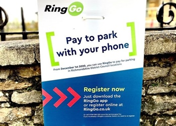CASHLESS CAR PARKING IN DISTRICT COUNCIL CAR PARKS FROM THE 1ST DECEMBER 2020