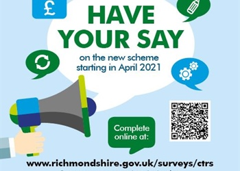 HAVE YOUR SAY ON COUNCIL TAX REDUCTIONS